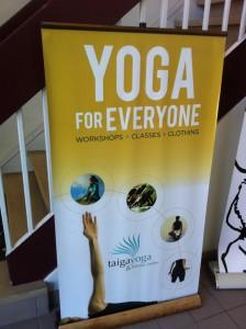 Taiga Yoga banner